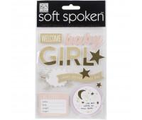 Наклейки 3D для девочки Soft Spoken