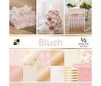 Набор бумаги с фольгированием Blush