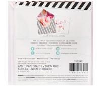 Цветной вкладышь для внутренней части конверта
