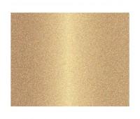 Кардсток с глиттером, цвет золотой 17.5х25см