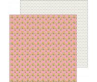 Лист двухсторонней бумаги Sunflower, My Bright Life