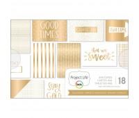Набор карточек Gold & Bold с золотым фольгированием