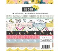 Набор бумаги односторонний Bloom, 15х15 см