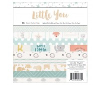 Набор бумаги односторонней Boy - Little You, 15х15 см