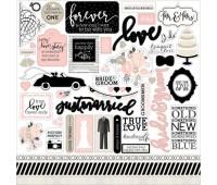 Наклейки Wedding Bliss Stickers