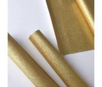 Глиттерная ткань, цвет Золото.