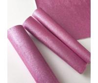 Глиттерная ткань, цвет Насыщенно розовый.
