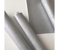 Глиттерная ткань, цвет Серебро.