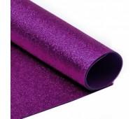 Глиттерная ткань, цвет Фиолетовый.