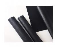Глиттерная ткань, цвет Черный.