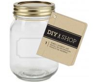 Стеклянная баночка Diy Shop 4 Mini Mason Jar