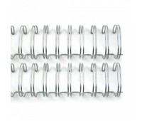 Металлическая пружина Cinch, цвет серебро, 2.5 см