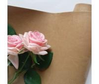Переплетный глянцевый кожзам с фактурой, цвет карамельный 11, 35*25 см