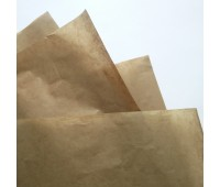 Бумага тишью, цвет темный крафт, 50-70 см