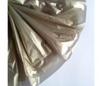 Бумага тишью, цвет золотой, 50-70 см
