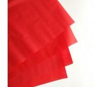 Бумага тишью, цвет красный, 50-70 см