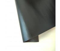Переплетный матовый кожзам с фактурой, цвет черный