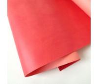 Переплетный матовый кожзам, цвет кардинал