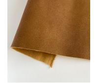 Искусственный нубук (замша), цвет коричневый 25-34 см
