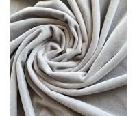 Бархат гладкий, цвет светло серый, 30х74 см