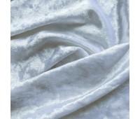 Бархат мраморный, цвет белый, 30х74 см