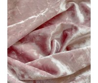 Бархат мраморный, цвет светлая пудра, 30х74 см
