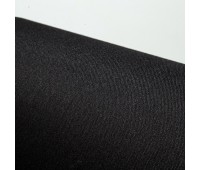 Переплетная ткань на бумажной основе, цвет черный 25х35 см