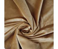 Велюр, цвет песочно-коричневый.