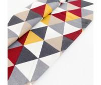 Ткань с водоотталкивающей пропиткой, треугольники