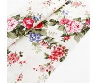 Ткань с водоотталкивающей пропиткой, цветы ягода