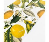 Ткань с водоотталкивающей пропиткой, лимоны