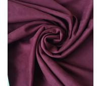 № 180 Искусственная замша двухсторонняя, цвет сангрия