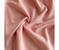 №154 Искусственная замша на дайвинге, цвет розово-персиковый