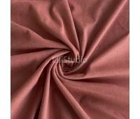 №153 Искусственная замша двухсторонняя, цвет оранжево-розовый
