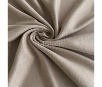 №150 Искусственная замша двухсторонняя, цвет серебрянная лиса
