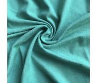 №162 Искусственная замша двухсторонняя, цвет изумрудная морская волна