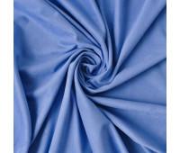 №176 Искусственная замша двухсторонняя, цвет васильковый