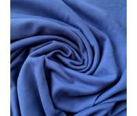 №175 Искусственная замша двухсторонняя, цвет сапфировый