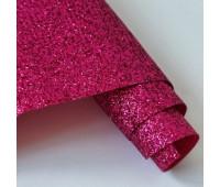 Глиттерная ткань, цвет малиновый.