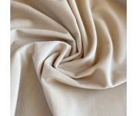 Велюр микро, цвет бежевый, 25-50 см
