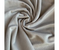 Велюр микро, цвет серый, 25-50 см