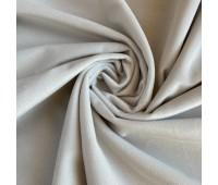 Велюр микро, цвет светло-серый, 25-50 см