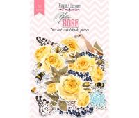 Набор высечек коллекция Yellow Rose 57 шт