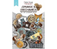 """Набор высечек, коллекция """"Grunge&Mechanics"""", 77шт"""