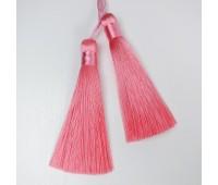 Подвеска кисточка, цвет розовый, 8,5 см