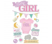Наклейки Baby Girl