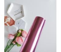 Фольга горячего тиснения, цвет розовый, 32-100 см
