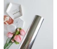 Фольга горячего тиснения, цвет серебро, 32-100 см