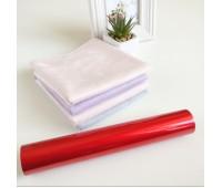 Фольга тонерочувствительная, цвет матовый красный 10-20,5 см