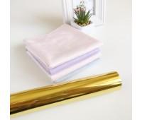 Фольга тонерочувствительная, цвет золото 10-20,5 см